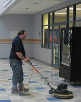 Colonial Maintenance Contractors Floor Buffing